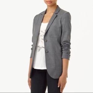 Aritzia Talula Exeter Gray Wool Blazer - Size 4